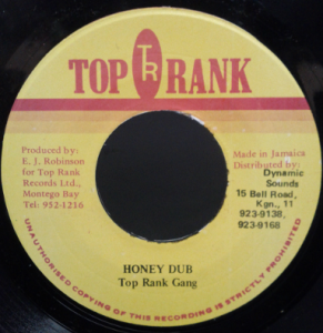 Top Rank Gang - Honey Dub (Top Rank) - B