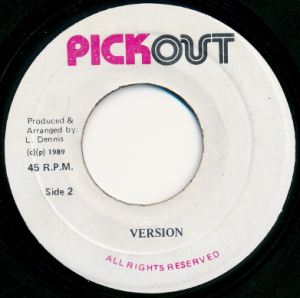 Wayne Wonder - Version (Pickout , 1989)